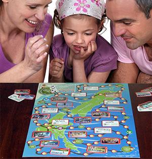 Aotearoa Road Trip Board Game
