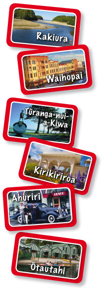 Maori Language Game: Aotearoa Road Trip